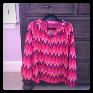 Beautiful blouse.  Perfect for spring and summer